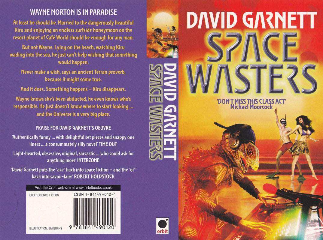 Space Wasters Double David S Garnett